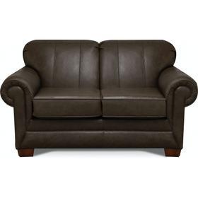 1436LSR Monroe Leather Loveseat