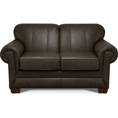 1436LSR Monroe Leather Loveseat