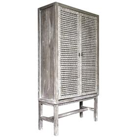 Cabinet, Available in Vintage Smoke Finish Only.