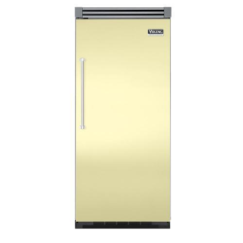 """Viking - Lemonade 36"""" Quiet Cool™ All Refrigerator - VIRB Tru-Flush™ (Right Hinge Door)"""