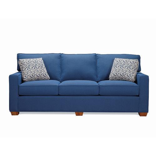 Sofa with Oak Legs
