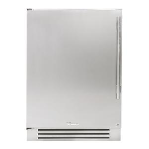 True Residential24 Inch Overlay Panel Door Left Hinge Undercounter Refrigerator
