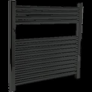 "Denby Towel Warmer 27"" x 30"" Plug-In Black Product Image"