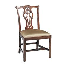 MASSACHUSETTS POLISHED MAHOGANY SIDE CHAIR