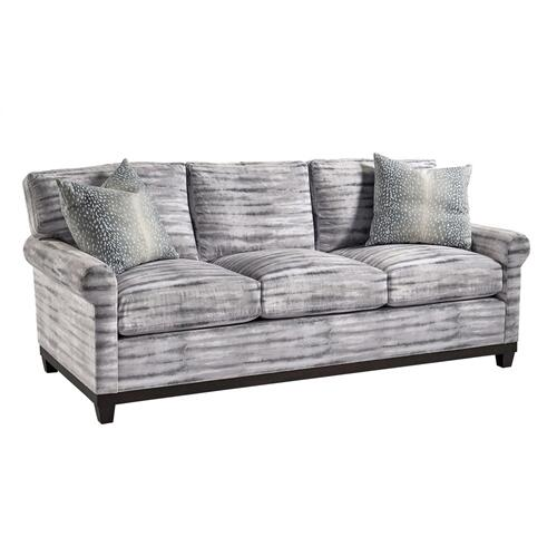 "T/P Sock Arm Sofa w/ base (5"")"