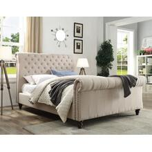 Swanson Queen Bed, Sand