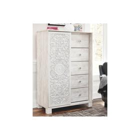 Paxberry Dressing Chest  Whitewash