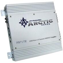 Arctic Series 2-Channel Bridgeable Class AB Amp (1,000 Watts)