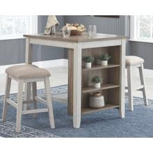 View Product - Skempton Counter Height Dining Table and Bar Stools (set of 3)