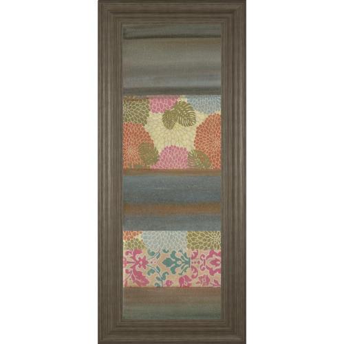 """""""Pretty In Pink III"""" By Willie Green-Aldridge Framed Print Wall Art"""