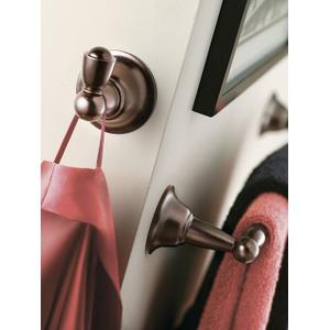 Sage oil rubbed bronze single robe hook