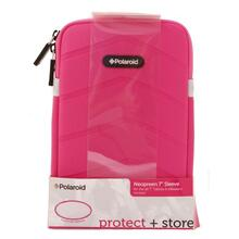 Polaroid Plush Neoprene 7 Inch Tablet Sleeve, Pink - PAC170PK