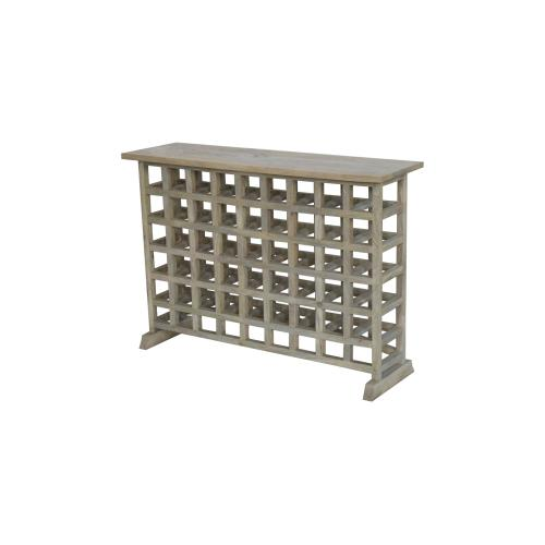 Prentice Lattice Work Console Table