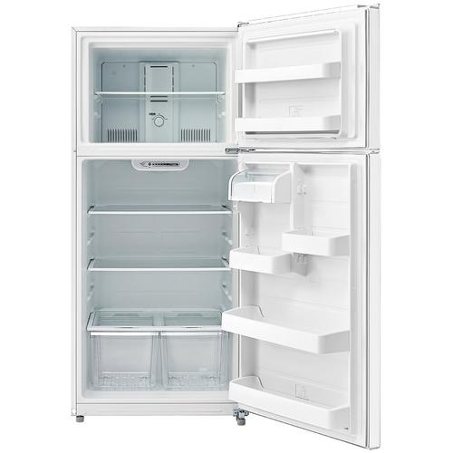 Top Mount Refrigerator - Black