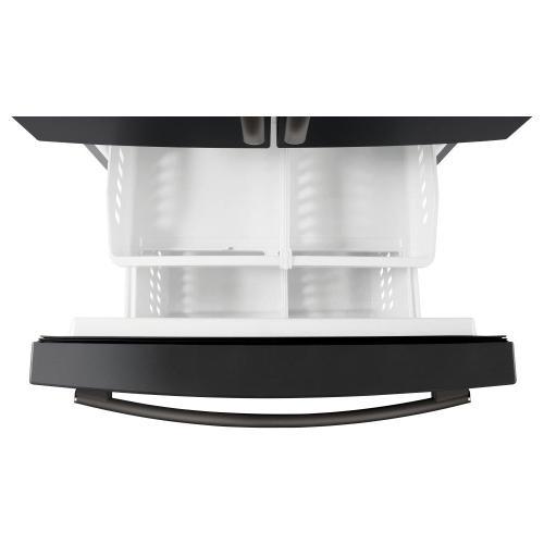 GE Appliances - GE® ENERGY STAR® 25.6 Cu. Ft. French-Door Refrigerator