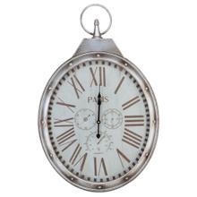 Product Image - Metal Wall Clock