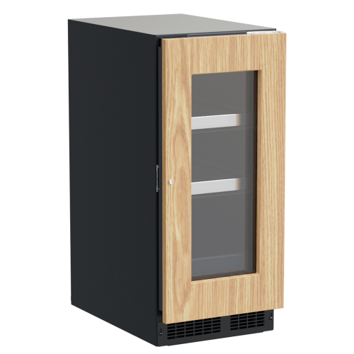 Gallery - 15-In Professional Built-In Beverage Center With Reversible Hinge with Door Style - Panel Ready Frame Glass