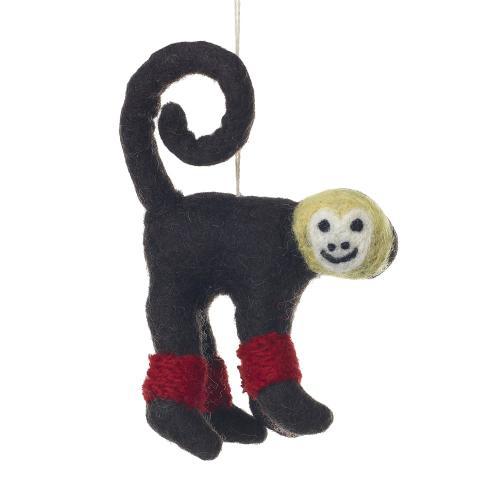 "5"" Brown Endangered Friends Ornaments (Monkey Option)"
