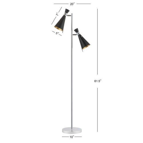 Efisio Floor Lamp - Chrome