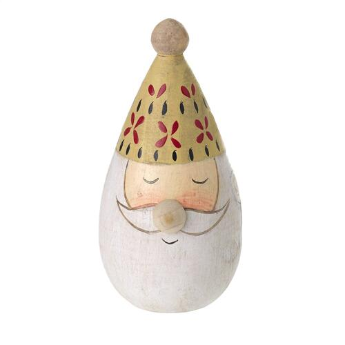 "1.75"" X 3.5"" Yellow Folk Santa"