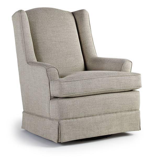 Best Home FurnishingsNatasha Swivel Glide Chair