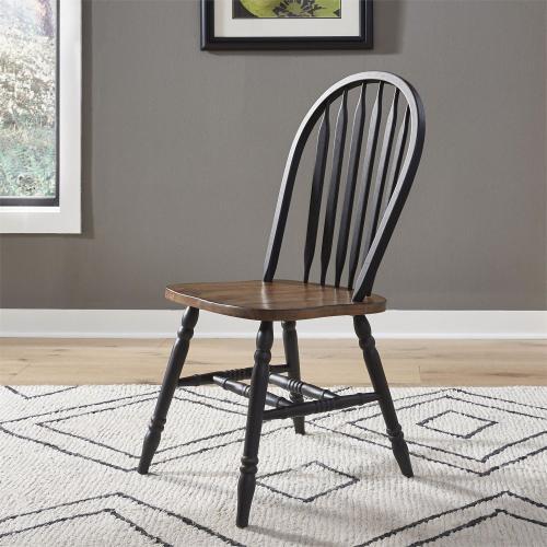 5 Piece Pedestal Table Set- Black