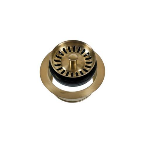 Mountain Plumbing - Classic - Complete Stopper & Strainer Unit Waste Disposer Trim - Pewter