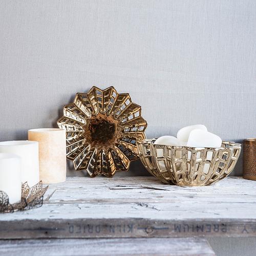 A & B Home - Manzu Decorative Bowl