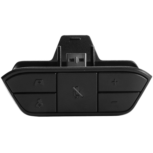 Connects to your wireless Xbox One controller, giving you the freedom to move. in Ink Black