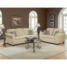 Summer Wheat / Charmed Taupe Loveseat