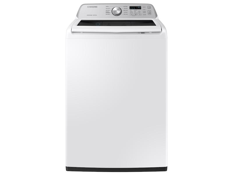 Samsung4.5 Cu. Ft. Capacity Top Load Washer With Active Waterjet In White