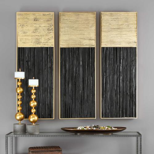 Uttermost - Pierra Wood Wall Panel