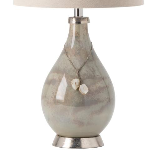 Claire Table Lamp with Crystal Accents