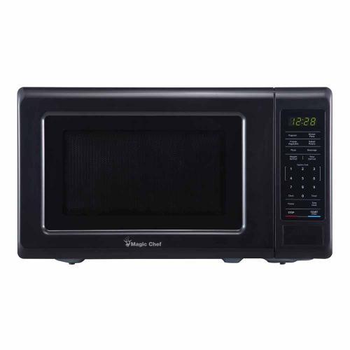 Magic Chef - 0.7 cu. ft. 700 Watt Countertop Microwave