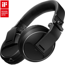 Over-ear DJ headphones (black)