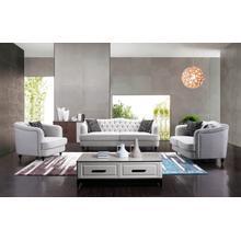 Divani Casa Purdy Transitional Fabric Sofa Set
