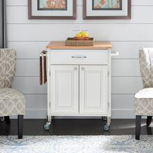 4507-95 Dolly Madison White Kitchen Cart