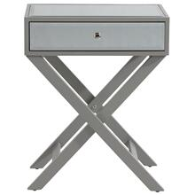 Alexa Accent Table in Grey