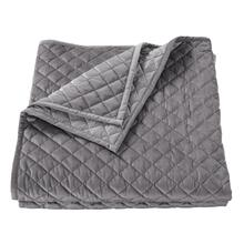 See Details - Velvet Diamond Quilts, 6 Colors - Full/queen / Gray