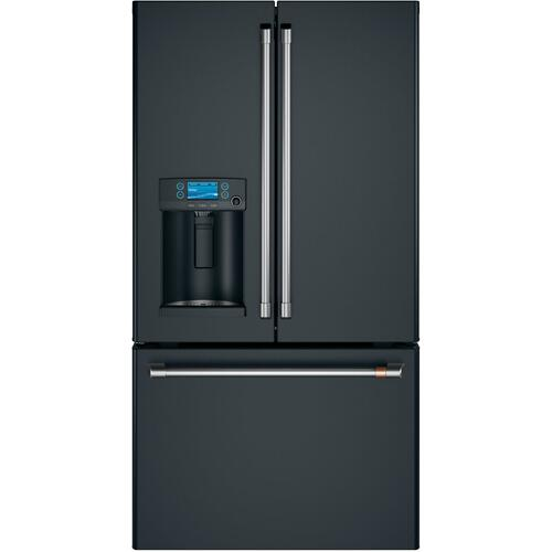 Café ENERGY STAR ® 27.8 Cu. Ft. Smart French-Door Refrigerator with Hot Water Dispenser