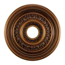 See Details - English Study Medallion 18 Inch in Antique Finish