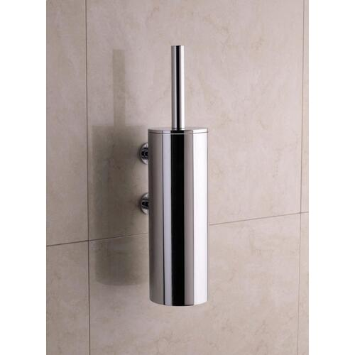 Toilet brush holder for wall mounting - Bright red