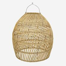 Pitri Round Woven Pendant **Shade Only, Natural