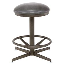Backless Swivel Stool (bronze)