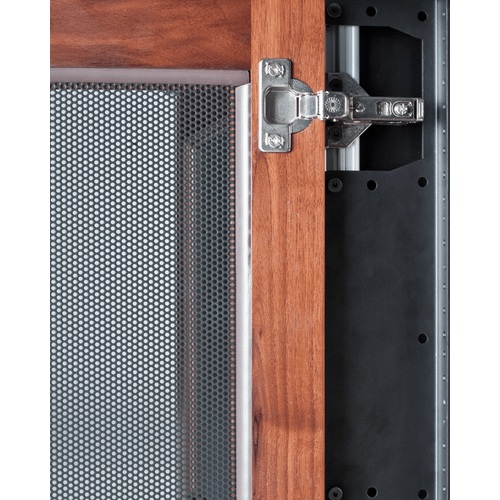 """10-U Rack Mount Brackets for Synergy 20\"""" Cabinet with Doors, Set of 2"""