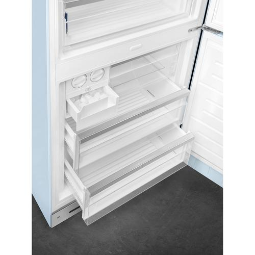 18 cu. ft. retro-style fridge, Pastel Blue, Right-hand hinge