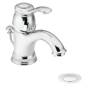 Kingsley chrome one-handle bathroom faucet Product Image
