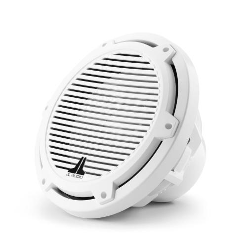 JL Audio - 10-inch (250 mm) Marine Subwoofer Driver, Gloss White Classic Grille, 4