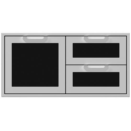 """42"""" Hestan Outdoor Combo Door/Drawer - AGSDR Series - Stealth"""
