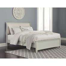 Product Image - Full Sleigh Bed With Mirrored Dresser